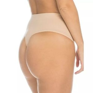 Spanx Women's Shapewear Nude Shaping Thong